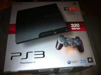 PS3 320gb like new, in original box, adult owned. Comes