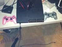 I have a 120gb play station 3 for sale. Comes with two