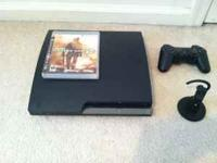 I have a PS3 for sale, like brand new. Owned and played