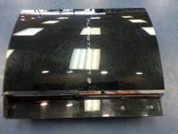 We have a playstation 3 in reverse suitable 80gb with