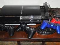 Selling personally (retired adult) owned PS3 w/ extras.