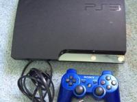 Selling my 250gb slim ps3 Comes with dual shock