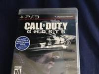 I have a copy of COD Ghosts PS3 Version for $40. When