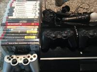 Sony PlayStation 3 80 GB Piano Black Console (NTSC -