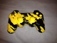 I've got a pretty cool customized ps3 controller. I