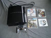 I'm selling my PS3 fat 80 GB.  I've had it a few months