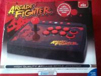 PS3 Fightstick in Box (like new) Street Fighter IV