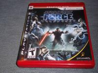 Sony Playstation 3 PS3 game of Star Wars: The Force