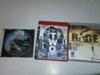 I have 3 ps3 games for sale. The first one is BLACK OPS