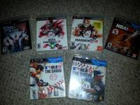 MLB 13 THE SHOW (new in wrapper) MLB 12 THE SHOW MADDEN