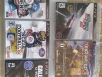 Games ps3  100 Obo text me  show contact info