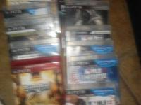18 ps3 games.-saints row, ghost recon,MLB the