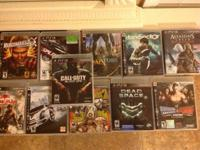 I have many different types of games that are like new
