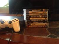 Selling a PS3 in great condition with a lot of games.