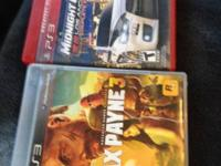 Both games in great condition  Max payne 3 Mcla los