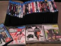 I have 27 blue rays and 3 games id like to sell. My ps3