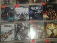 Offering my ps3 games collection. 19 games overall, in