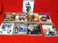 Call of Duty MW3-$5.00 Grand Theft Auto-$10.00 NHL