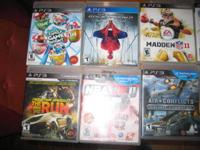 I have 25 PS3 Games for sale for $10.00 each. They are