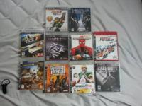 Recently, my PS3 broke, so I am selling my old games