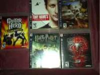 Ps3 video games $10 dollars a piece. Lord of the rings