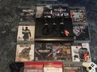 I am selling a PS3 with the system, 2 controllers,