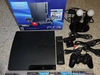 I have a ps3 360 GB, with great deals of accessories.