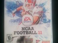 NCAA Football 11 $5  Any questions or if interested my