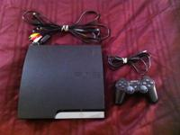 This listing is for a Sony Playstation 3 160 GB black