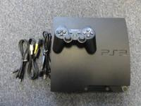 PS3 Playstation 3 video game system with one controller