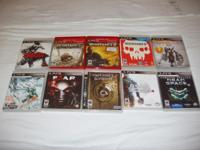 Selling or willing to trade some great PS3 & PS1 games