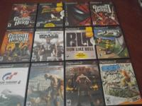 Playstation 2 games (12 total) - ranging in price from