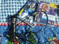 American Idol and singstar for ps3 with mic. call or