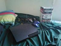 I have a ps3 slim 160 gig 17 games 2 controllers and