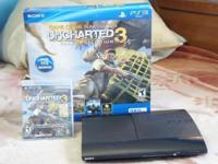 I AM SELLING PS3 SLIM 250GB IN ITS ORIGINAL BOX +2