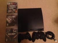 I have for sale a ps3 slim with a 320 gb hard disk. It