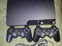 Im selling my ps3 slim 320gb. It features original