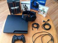 I'm selling my ps3 + black ops 2 hardened edition,