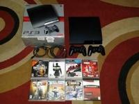HERE FOR SALE A PS3 SONY PLAYSTATION CONSOLE, 250GB OF