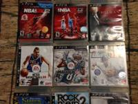 I have my ps3 video games for sale. recently started