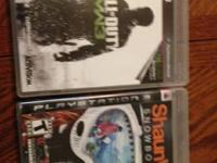 Playstartion 3 games:  Shaun White Snowboarding $ 5