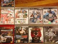 23 games including madden 25,nba 2k14, gta 5