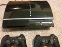 ps3 system 75gig hookups hdmi and power plug 29 games