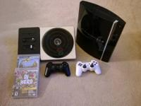 I have for sale a Ps3 with 2 controllers and DJ hero