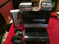 For Sale in EXCELLENT Condition is a PS3 CECHA01 60GB