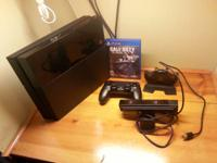 hello i selling my ps4 charger station  call of duty
