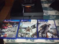 Ps4 and 3 games the crew assassins creed black flag and