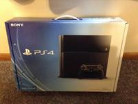 NEW SEALED IN BOX IS THE PS4 LAUNCH EDITION PLUS THE X