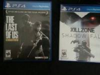 I have two games in excellent condition. Killzone and
