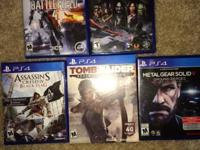Like new, all manuals etc. will consider PS4 game